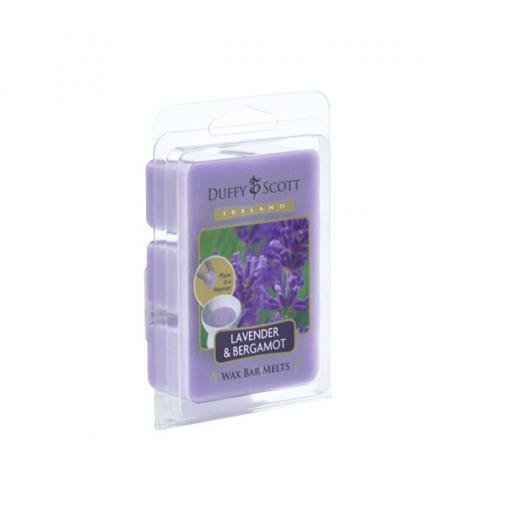 Lavender & Bergamot Scented Wax Melt