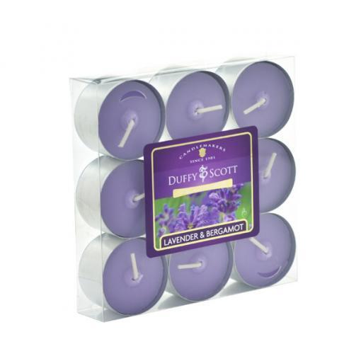 Lavender & Bergamot Scented Tealights