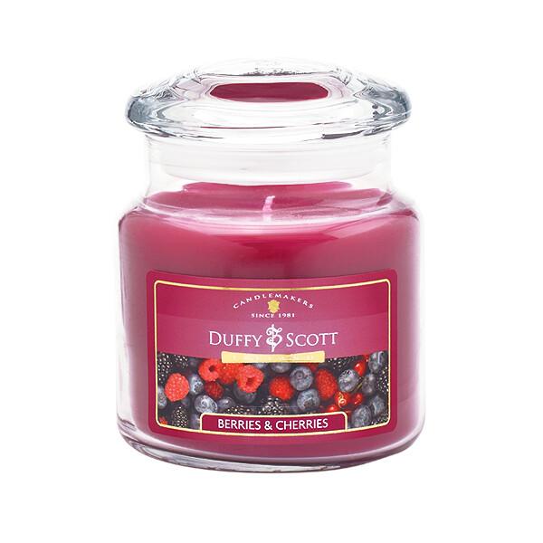 Berries & Cherries Scented Lidded Jar Candle