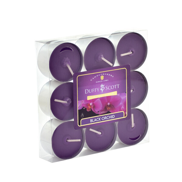 Black Orchid Scented Tealights