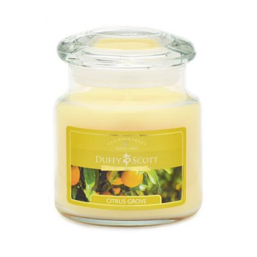 Citrus Grove Lidded Jar