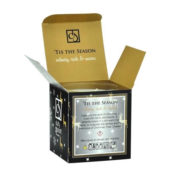 Tis the Season Scented Tumbler Candle Box