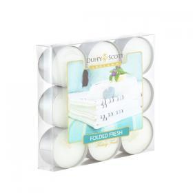 Folded Fresh Scented Tealights