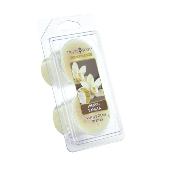 French Vanilla Scented Votive Refill