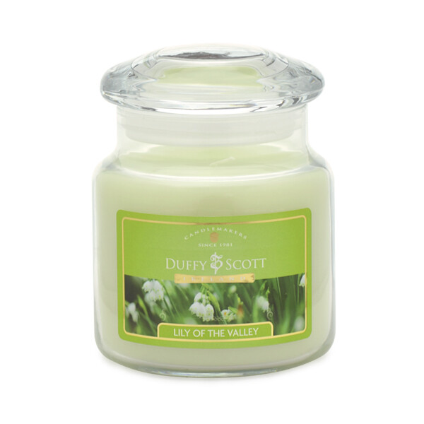 Lily of the Valley Scented Lidded Jar Candle