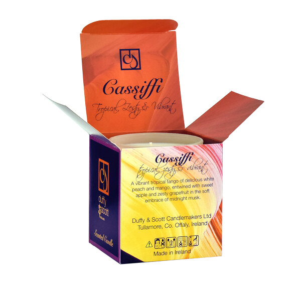 Cassiffi Scented Tumbler Candle Box