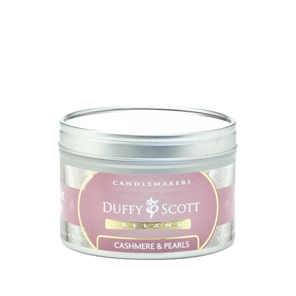 Cashmere & Pearls Scented Tin Candle