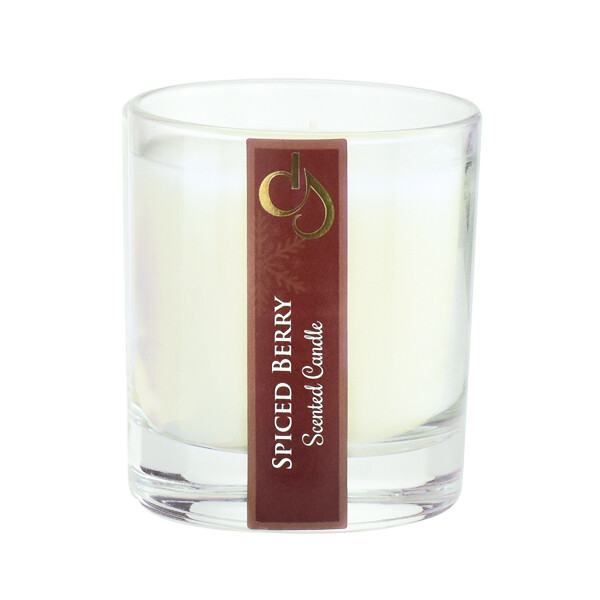 Spiced Berry Scented Tumbler Candle