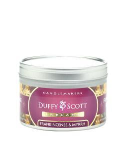 Frankincense & Myrrh Scented Tin Candle