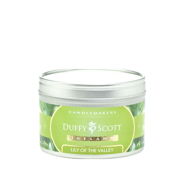 Lily of the Valley Scented Tin Candle