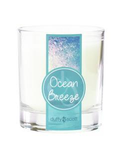 Ocean Breeze Scented Tumbler Candle