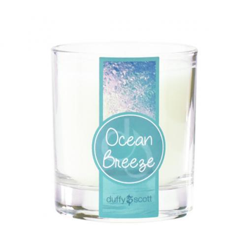 Ocean Breeze Scented Tumbler Candle