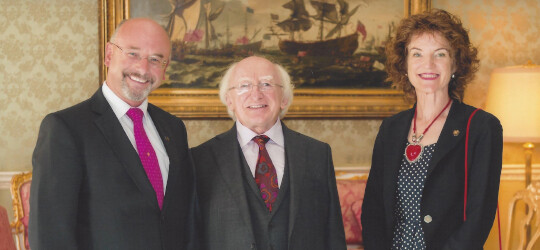 President Higgins - Duffy & Scott Candlemakers