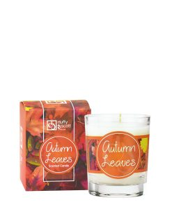 Autumn Leaves Scented Travel Candle