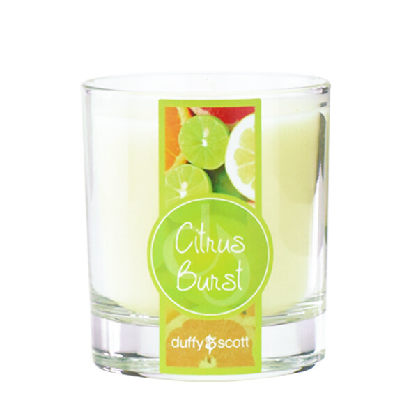 Citrus Burst Scented Tumbler Candle