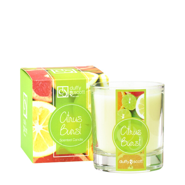 Citrus Burst Scented Candle