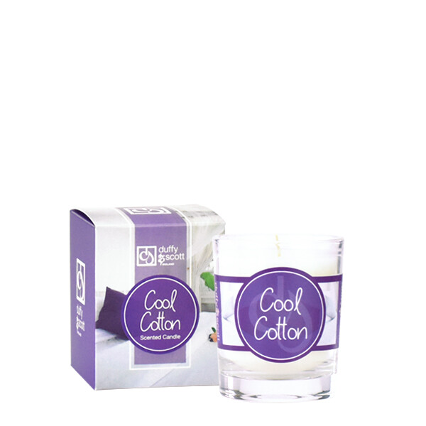 Cool Cotton Scented Travel Candle