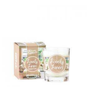 Lovely Linen Scented Travel Candle