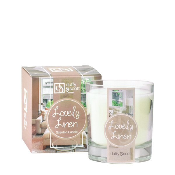 Lovely Linen Scented Candle