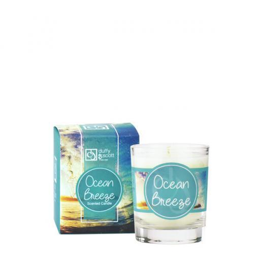 Ocean Breeze Scented Travel Candle
