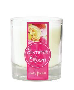 Summer Bloom Scented Tumbler Candle
