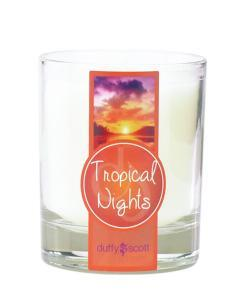 Tropical Nights Scented Tumbler Candle